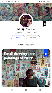 Behance – Creative Portfolios Screenshot