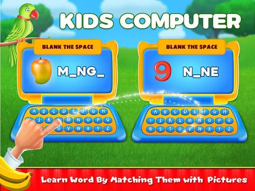 Preschool Learning Kids Computer Game 1.3 screenshots 1