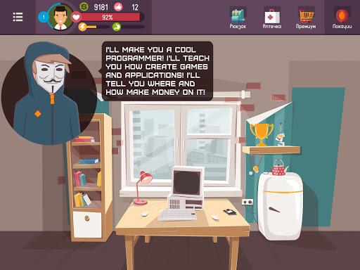 Hacker - tap smartphone tycoon, life simulator Apkfinish screenshots 7
