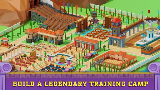 Idle Antique Gym Tycoon: Incremental Odyssey screenshots 1