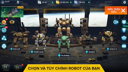 War Robots. Game Chiến thuật Nhiều người chơi 6v6 5