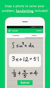 Free Cymath – Math Problem Solver 1