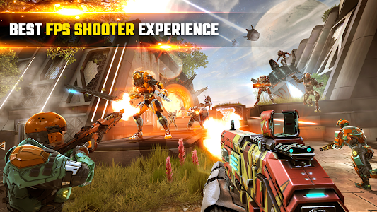 SHADOWGUN LEGENDS - FPS and PvP Multiplayer games 1.1.1 (Infinite bullets)