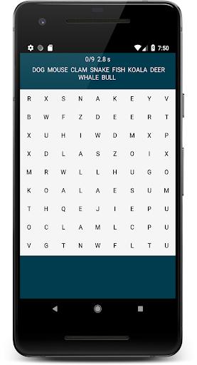 word search wear - find words on the watch wear os screenshot 1