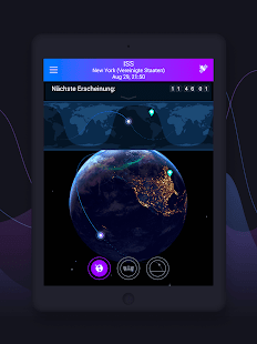 Satellite Tracker by Star Walk Screenshot