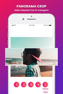 Grid Photo Maker for Instagram 9 Grid Giant Square 2.7 Screenshots 4