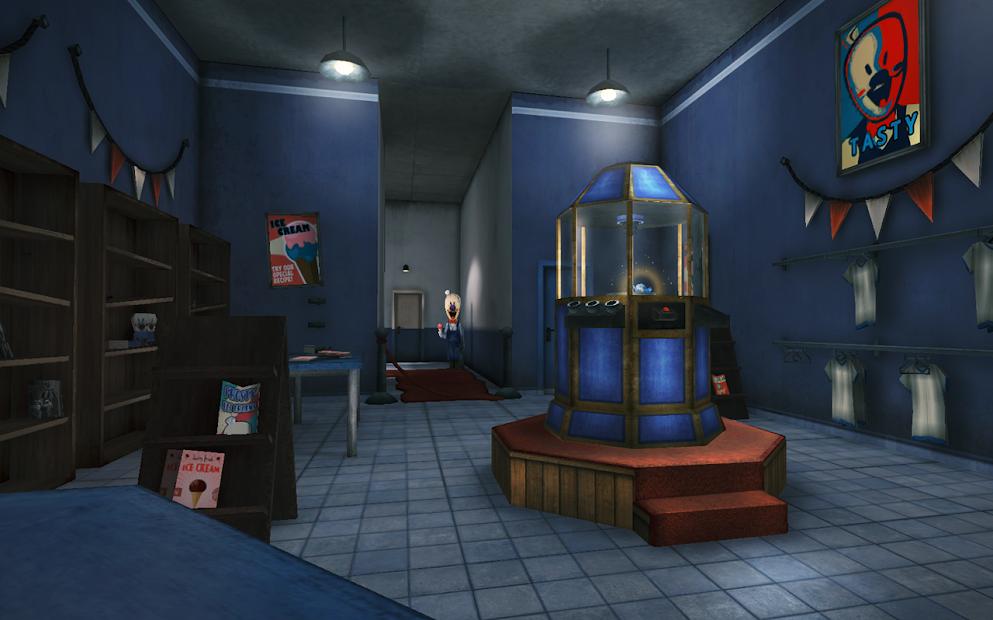 Captura 4 de Ice Scream 4: La Fábrica de Rod para android