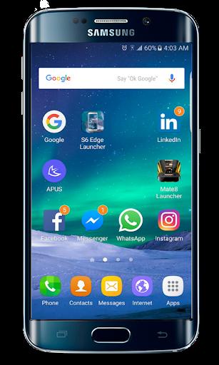 galaxy s20 launcher theme screenshot 1
