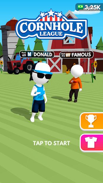 Cornhole League Android App Screenshot
