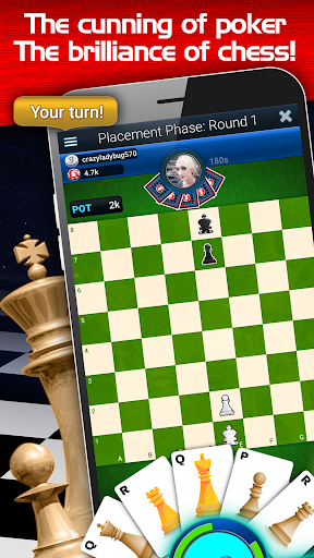 Chess + Poker = Choker 0.9.0 screenshots 1