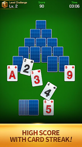 Solitaire TriPeaks : Solitaire Grand Royale android2mod screenshots 2