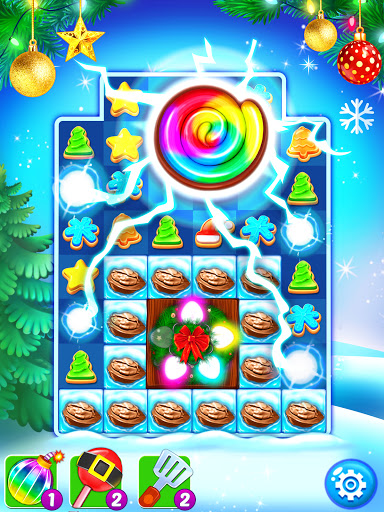 Christmas Cookie - Santa Claus's Match 3 Adventure 3.3.5 screenshots 8