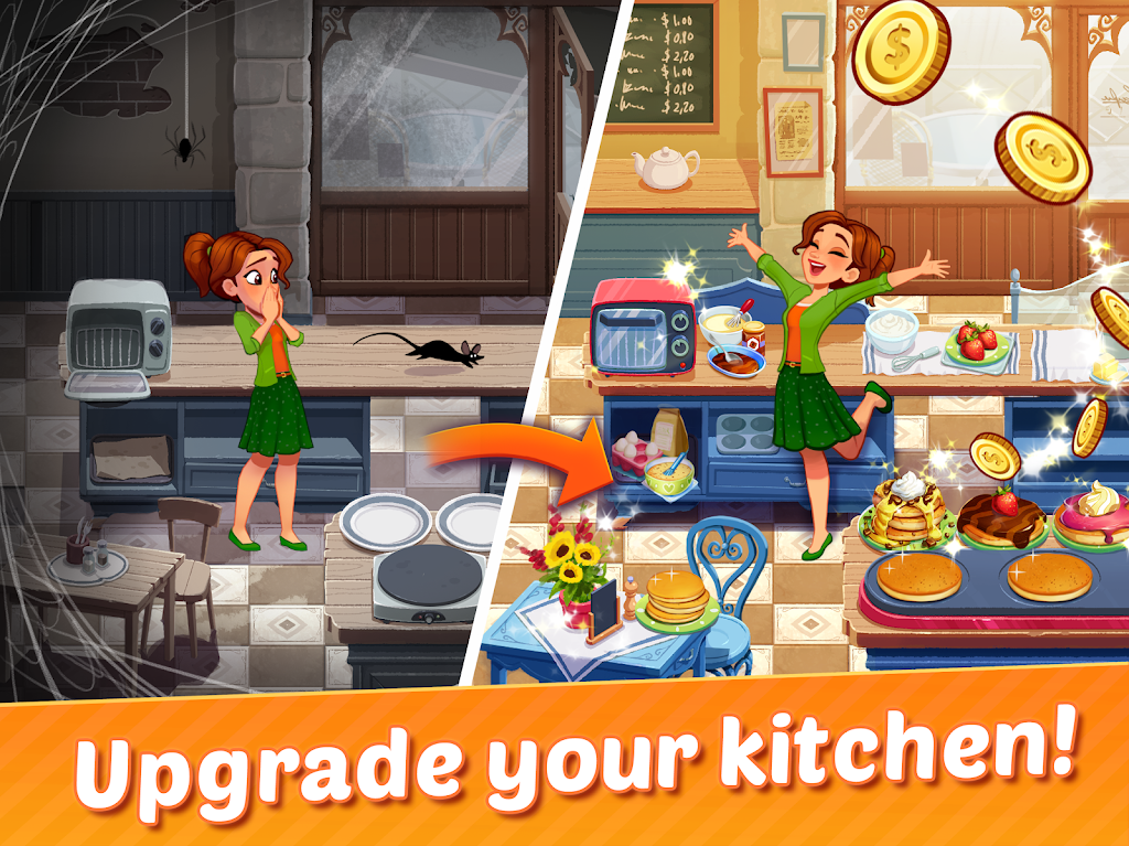 Delicious World - Cooking Restaurant Game poster 5