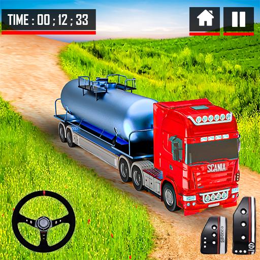 Oil Tanker Truck Driving Simulation Games 2021