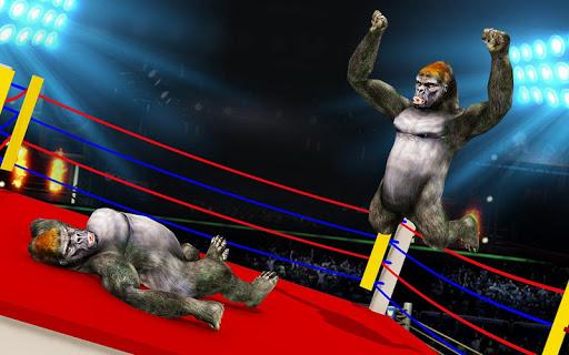 Wild Gorilla Ring Fighting:Wild Animal Fight screenshots 2
