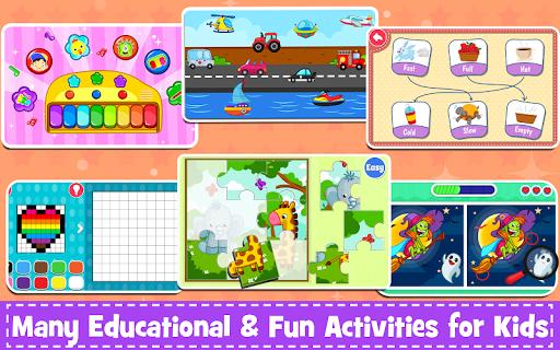 Kids Preschool Learning Games - 150 Toddler games 5.8 Screenshots 15