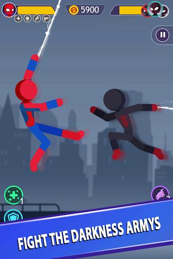 Télécharger Stickman Bataille Suprême Jeux mod apk screenshots 3