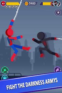 Stickman Battle game free Mod Apk: Fighting Stickman (Unlock All Heroes) 3