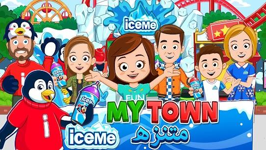 لعبة مدينة الملاهي My Town ICEME مهكرة Mod APK 1