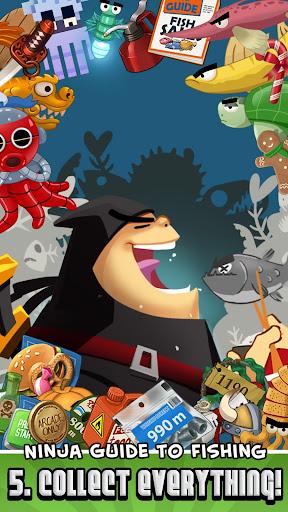 Ninja Fishing apkpoly screenshots 6