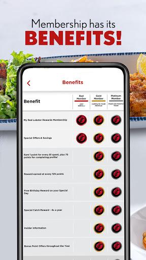 My Red Lobster Rewardsu2120 1.20.1 Screenshots 3