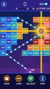 Bricks Breaker – Glow Balls 3