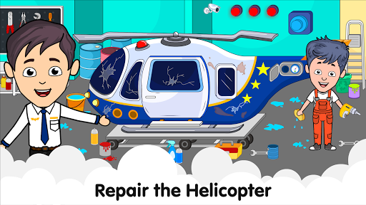 My Airport Town: Kids City Airplane Games for Free 1.6.1 Screenshots 13