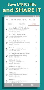 Lyrics Editor Mod Apk (Pro Features Unlocked) 5