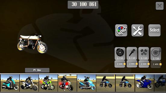 Wheelie King 3D - Realistic free  motorbike racing 1.0 Screenshots 7