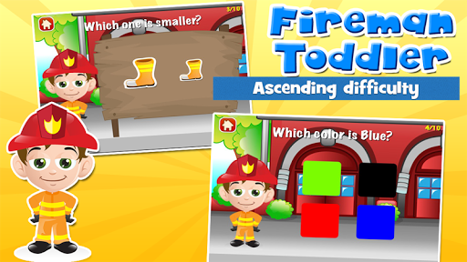 Fireman Toddler School Free 3.20 screenshots 6