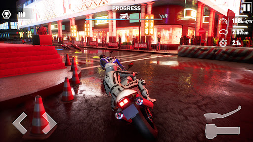Street Moto: Speed Race screenshots 9