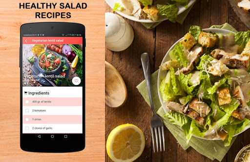 Foto do Salad recipes free. Low carb, easy & healthy food.