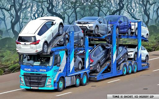 Cargo Euro Truck Drive - Car Transport New  screenshots 1