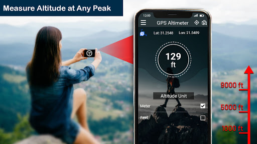 GPS Altimeter: Altitude Meter Free  screenshots 1