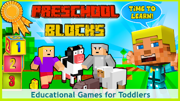 Blocks for Toddlers - free number games for baby+
