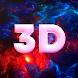 3Dライブ壁紙:パララックス、4k、HD壁紙