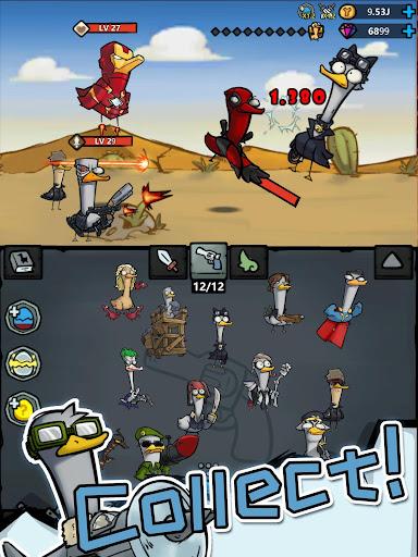 Merge Duck - Idle Click RPG apktram screenshots 7