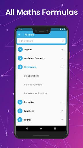 All Maths Formulas 1.25 screenshots 2