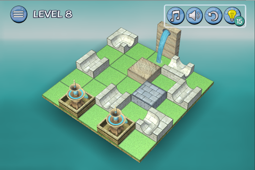 Flow Water Fountain 3D Puzzle 1.2 Screenshots 2
