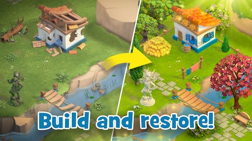 Land of Legends: Building games. Build your city apktram screenshots 12