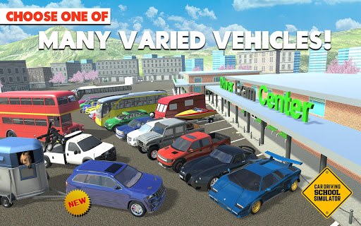ud83dude93ud83dudea6Car Driving School Simulator ud83dude95ud83dudeb8 3.0.5 screenshots 8