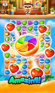 Cute fruit garden legend & match-3 1.0 screenshots 1