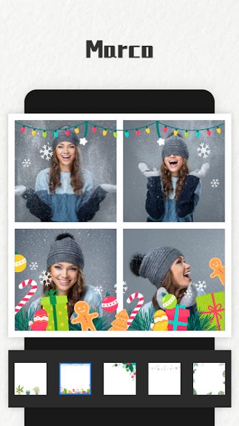 Captura de Pantalla 15 de Photo Collage Maker para android