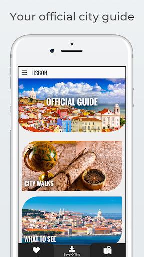 LISBON City Guide, Offline Maps, Tours and Hotels 2.62.1 screenshots 1