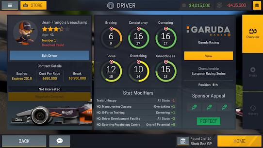 Motorsport Manager Mobile 2 v1.1.3 MOD APK 5