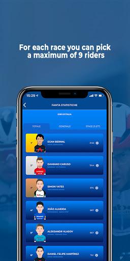 Fantacycling android2mod screenshots 12