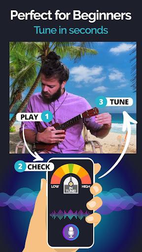 Ukulele Tuner Pocket - The Ukelele Tuner App android2mod screenshots 3