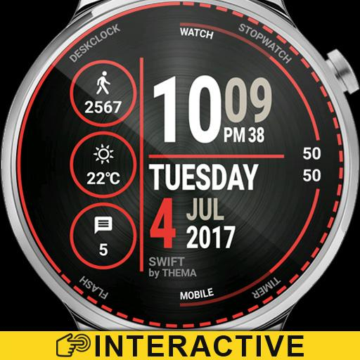 Swift Watch Face & Clock Widget Icon