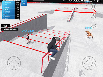 Skate Space Mod Apk 1.441 (Lots of X Currency) 6