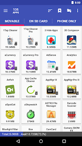 AppMgr Pro III (App 2 SD, Hide and Freeze apps) 5.22 (Patched) (Mod Extra) (Arm64-v8a)